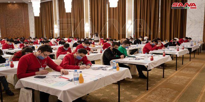 367 Erkek ve Kız Öğrencinin Katılımıyla… Suriye Bilimsel Olimpiyatları Final Eleme Sınavlarının İlk Turu Başladı
