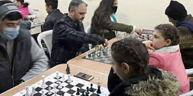 بطولة تنشيطية للشطرنج في النادي العمالي بحمص