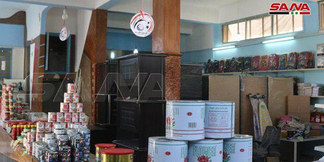 مبيعات السورية للتجارة في دير الزور تتجاوز ملياراً و700 مليون ليرة خلال العام الجاري