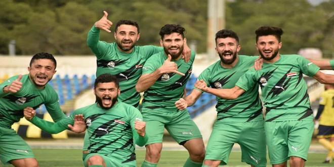 الحرية يفوز على الحرجلة في اختتام الجولة السادسة للدوري الممتاز لكرة القدم