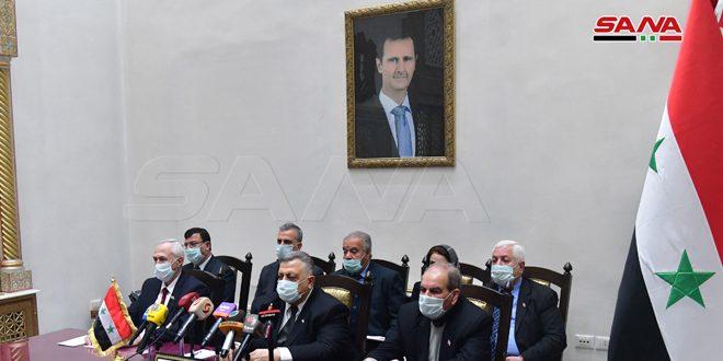 صباغ في مؤتمر برلمانات الدول المدافعة عن فلسطين: السبب الرئيس لما تتعرض له سورية من حروب وحصارات رفضها التخلي عن الشعب الفلسطيني