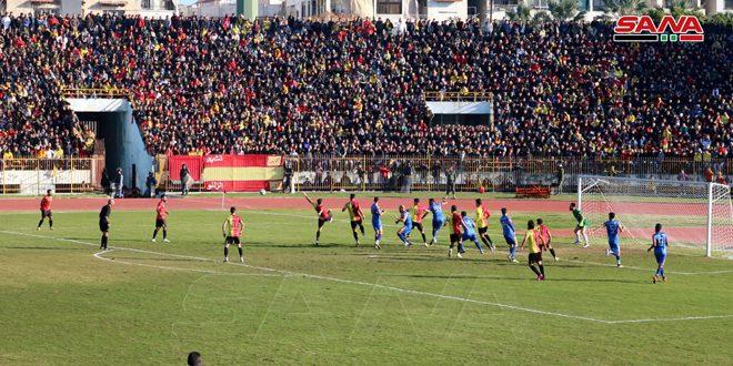 بفوزه على الكرامة… تشرين ينتزع صدارة الدوري الممتاز لكرة القدم