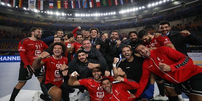 منتخب مصر إلى ربع نهائي كأس العالم لكرة اليد