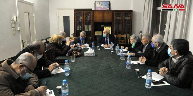 لجنة دعم الشعب الفلسطيني تؤبن رئيسها السابق وتركز على الحوار مع جيل الشباب