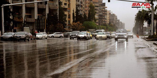 هطولات مطرية في المحافظات كافة أغزرها 125مم في القنيطرة و100مم بحماة
