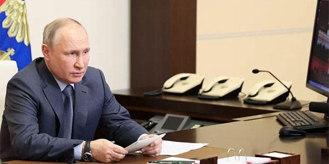 بوتين: سأناقش مع بايدن الوضع في سورية وليبيا وعدداً من القضايا  العالمية